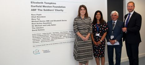 HRH Princess Eugenie opens the expansion of the SCIC
