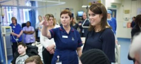Princess Eugenie shares x-rays from her time at the RNOH