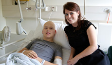 Princess Eugenie with patient