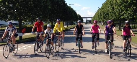 Appeal Chairman over half way on 767 mile cycle fund-raiser